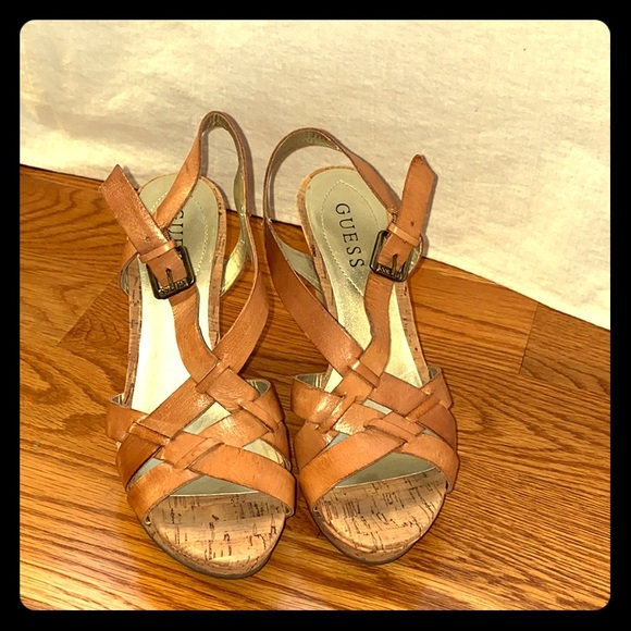 Size 712 Very Cute Wedge Summer Sandals